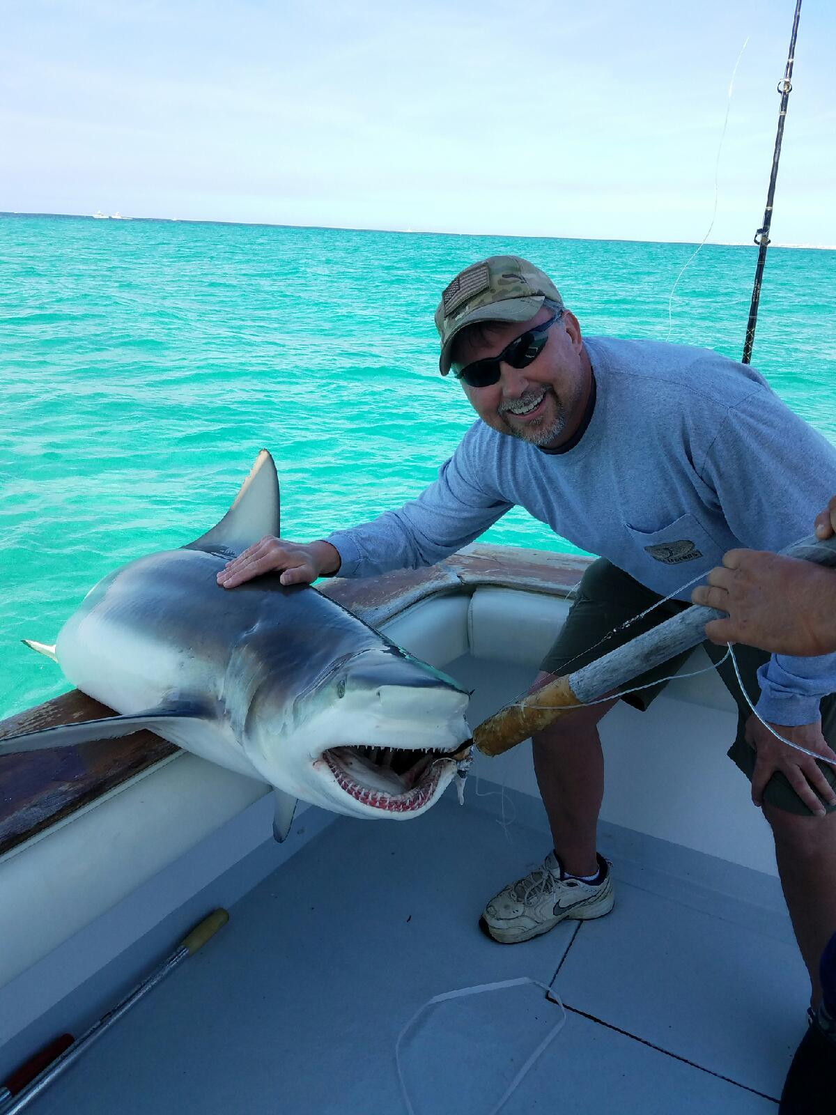 Shark fishing deep sea destin for Deep sea fishing in destin fl